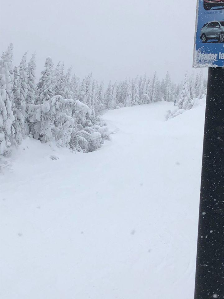 Le Valinouet - La neige s'est donnée rendez-vous au Valinouet cet hiver