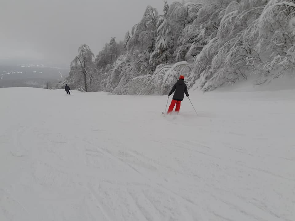 Mont Orford - Nouvelle neige et conditions formidable