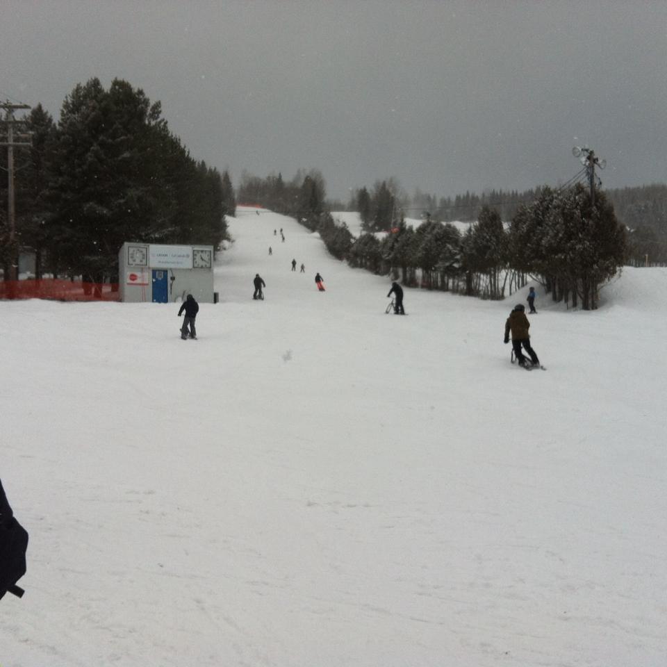 Mont Orignal - Une station à voir pour ces belles conditions de neige